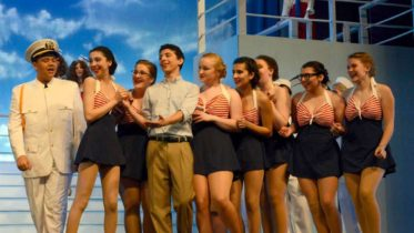 Photo courtesy of Matthew Brown // The spring musical Anything Goes impresses audiences with a strong opening weekend.